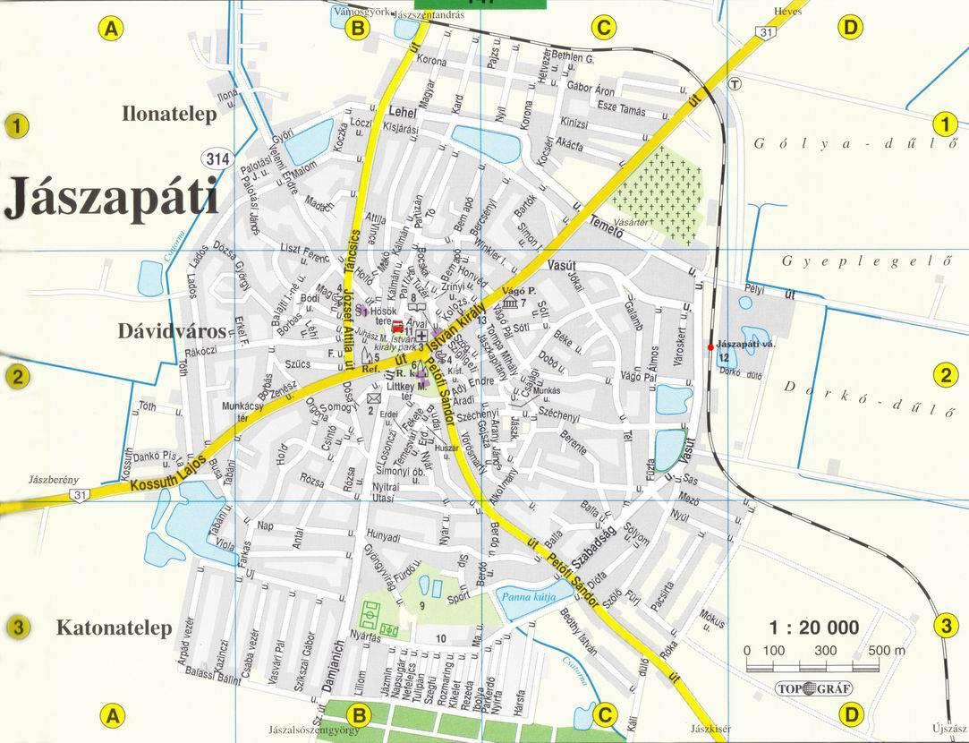 jászapáti térkép Térkép   Jászapáti város jászapáti térkép